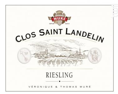 Riesling Clos St Landelin - Domaine Muré - Clos Saint Landelin - 2009 - Blanc