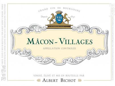 Mâcon-Villages - Albert Bichot - 2019 - Blanc