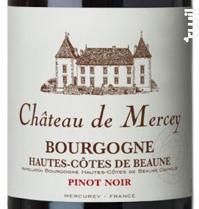 Château de Mercey - Antonin Rodet - 2016 - Rouge