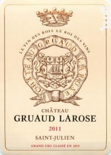 Château Gruaud Larose - Château Gruaud-Larose - 2011 - Rouge