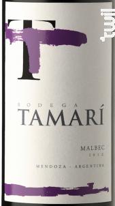 Malbec - Tamari - 2017 - Rouge