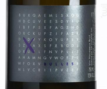 X Bulles - Domaine Le Fay d'Homme -  Vincent Caillé - Non millésimé - Effervescent