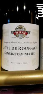 Côte De Rouffach - Domaine Muré - Clos Saint Landelin - 2013 - Blanc