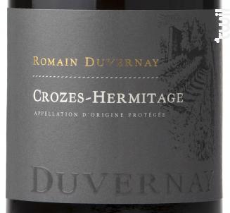 Crozes-Hermitage - Romain Duvernay - 2018 - Rouge