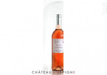 Le Cinsault - Château L'Espigne - 2014 - Rosé