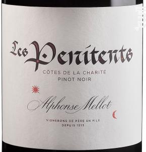 Les Pénitents - Alphonse Mellot - 2015 - Rouge