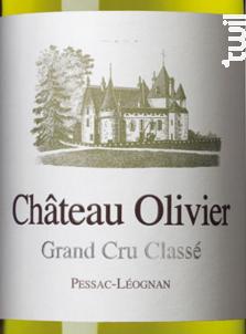 Château Olivier - Château Olivier - 2017 - Blanc