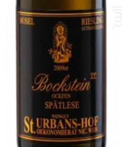 Riesling Ockfener Bockstein Spätlese - Sankt Urbans-Hof - 2014 - Blanc