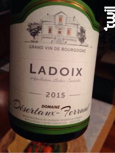 Ladoix - Domaine Désertaux-Ferrand - 2016 - Rouge