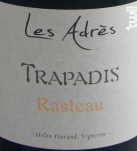 Les Adrès - Domaine du Trapadis - 2015 - Rouge