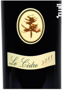 Le Cèdre - Château du Cèdre - 2015 - Rouge