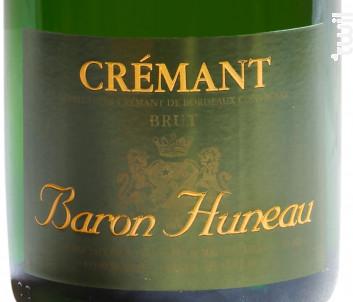 Crémant de Bordeaux - Château Huneau - Non millésimé - Effervescent