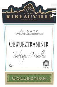 VIns Casher Gewurztraminer - Cave de Ribeauvillé - 2015 - Blanc