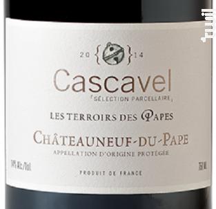 Cascavel Les Terroirs des Papes - Caravinsérail - La Maison de Cascavel - 2016 - Rouge