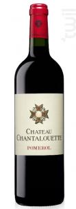 Château Chantalouette - Château Chantalouette - 1991 - Rouge