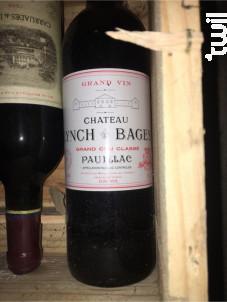 Château Lynch-Bages - Château Lynch-Bages - 2019 - Rouge