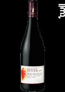 Bourgogne Côtes d'Auxerre - Domaine Petitjean - 2018 - Rouge