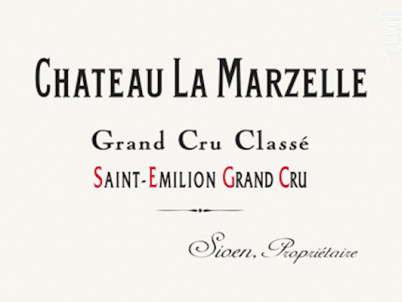 Château la Marzelle - Château La Marzelle - 2000 - Rouge