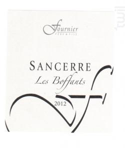 Sancerre Les Boffants - Caillottes - FOURNIER Père & Fils - 2014 - Blanc