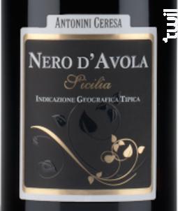 Antonini Ceresa Nero D'Avola - Astoria - 2019 - Rouge