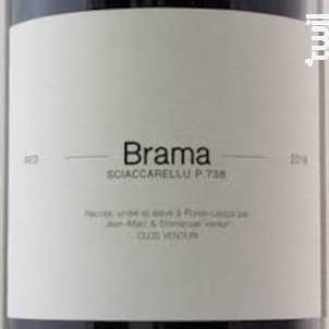 Brama - Clos Venturi - 2018 - Rouge