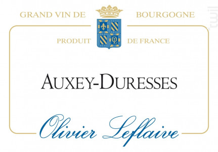 Auxey-Duresses - Maison Olivier Leflaive - 2014 - Blanc