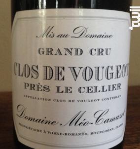 Clos De Vougeot Pres Le Cellier - Domaine Méo-Camuzet - 2009 - Rouge