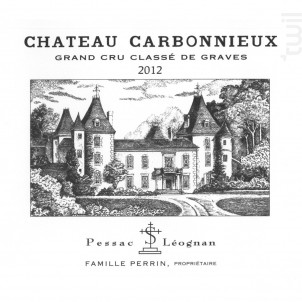 Château Carbonnieux - Château Carbonnieux - 2012 - Rouge