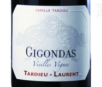 Gigondas Vieilles Vignes - Maison Tardieu Laurent - 2017 - Rouge