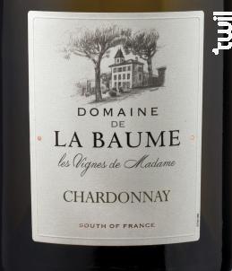 Les Vignes de Madame - DOMAINE DE LA BAUME - 2017 - Blanc