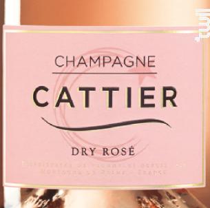 Dry Rosé - Champagne Cattier - Non millésimé - Effervescent