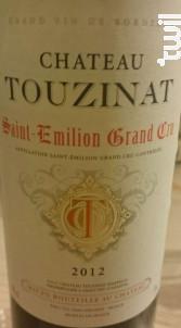 Château Touzinat - Château Touzinat-Marpaud - 1990 - Rouge