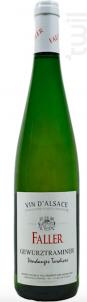 Gewürztraminer, Vendanges Tardives - Robert Faller et Fils - 2007 - Blanc