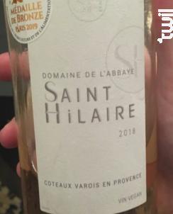 Domaine de l'Abbaye Saint Hilaire - Domaine de l'Abbaye Saint Hilaire - 2018 - Rosé