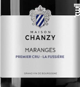 Maranges Premier Cru - La Fuissière - Maison Chanzy - 2018 - Rouge