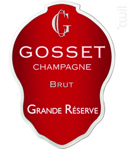 Grande Réserve - Champagne Gosset - Non millésimé - Effervescent