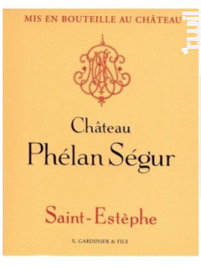 Château Phélan Ségur - Château Phélan Ségur - 2013 - Rouge