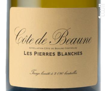 COTE DE BEAUNE LES PIERRES BLANCHES - Domaine de la Vougeraie - 2015 - Blanc