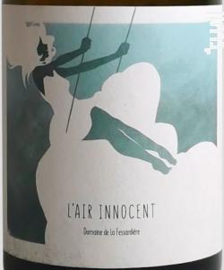 L'air innocent - Domaine de la Fessardière - 2017 - Blanc