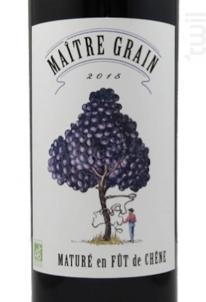 Maître Grain - Berticot - 2015 - Rouge