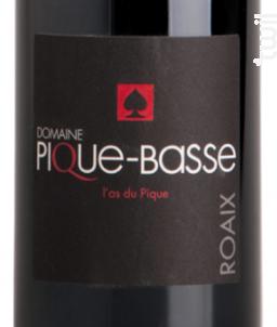 L'AS DU PIQUE - Domaine Pique-Basse - 2016 - Rouge