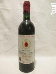 Château Pontet-fumet - Château Pontet-Fumet - 1990 - Rouge