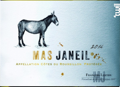 Mas Janeil - François Lurton - Mas Janeil - 2015 - Blanc