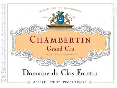 Chambertin Grand Cru - Domaine du Clos Frantin - Domaines Albert Bichot - 2017 - Rouge