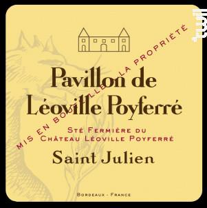 Pavillon de Léoville Poyferré - Château Léoville Poyferré - 2014 - Rouge