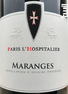 Maranges - Paris l'Hospitalier - 2017 - Rouge