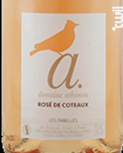 Rosé de Coteaux - Domaine A. - 2020 - Rosé