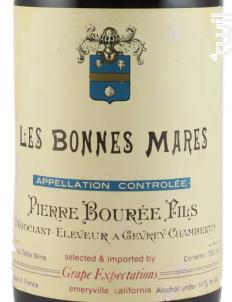 BONNES MARES - Pierre Bourée Fils - 1986 - Rouge