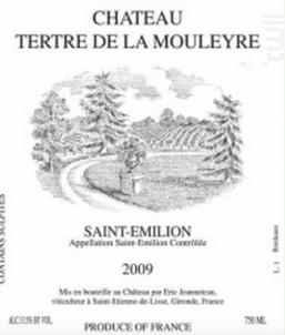 Château Tertre de la Mouleyre - CHÂTEAU TERTRE DE LA MOULEYRE - 2016 - Rouge
