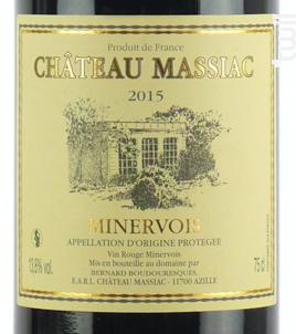 Château Massiac - Château Massiac - 2015 - Rouge